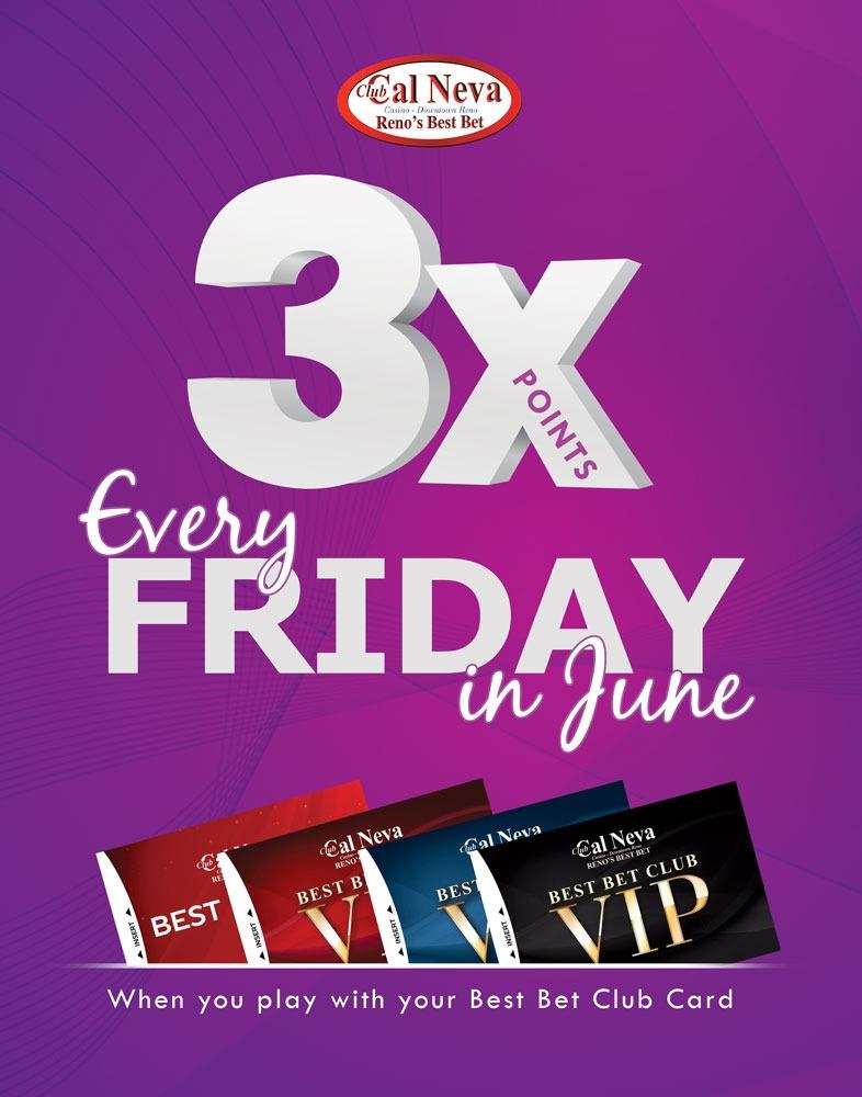 3X Friday