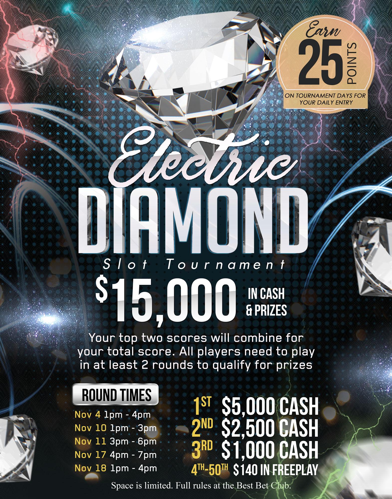 Electric Diamond Slot Tournament